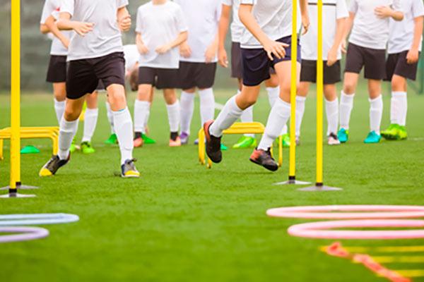 små kegler til fodbold
