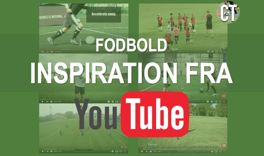 Inspiration til din fodboldtræning fra YouTube